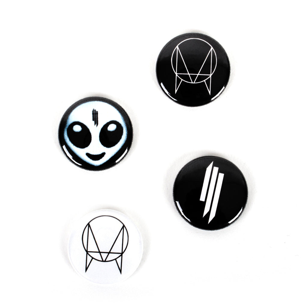 'Recess' Button Pack