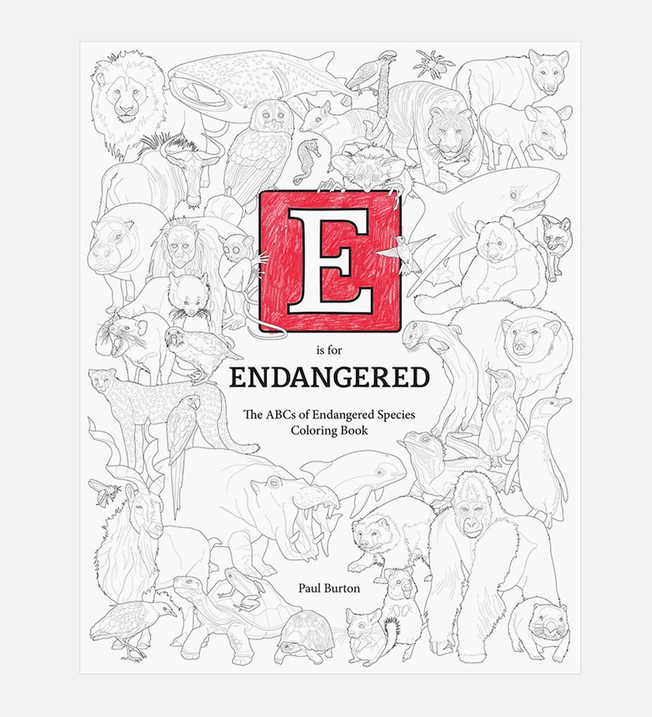 E is for Endangered | OddGoods