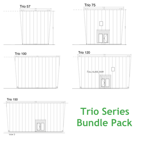 Trio Plan Sets Bundle Pack