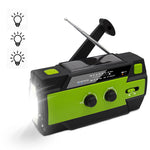 Multi-Purpose Crank Radio 4000 mAh MD-090P