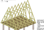 DIY A-frame plans (metric)