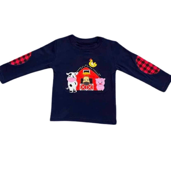 Baby Boy Farm Shirt