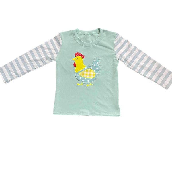 Boy Chicken Farm Shirt