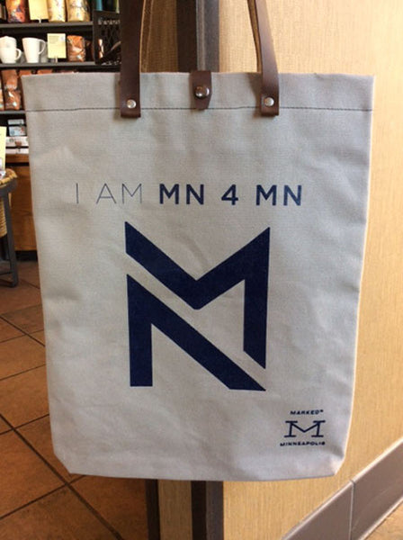 MN4MN Canvas Tote