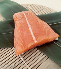 Salmon MEAT near tail