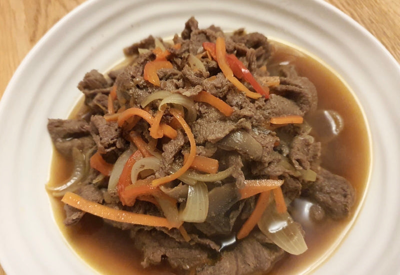 Marinated Beef Feather Bulgogi