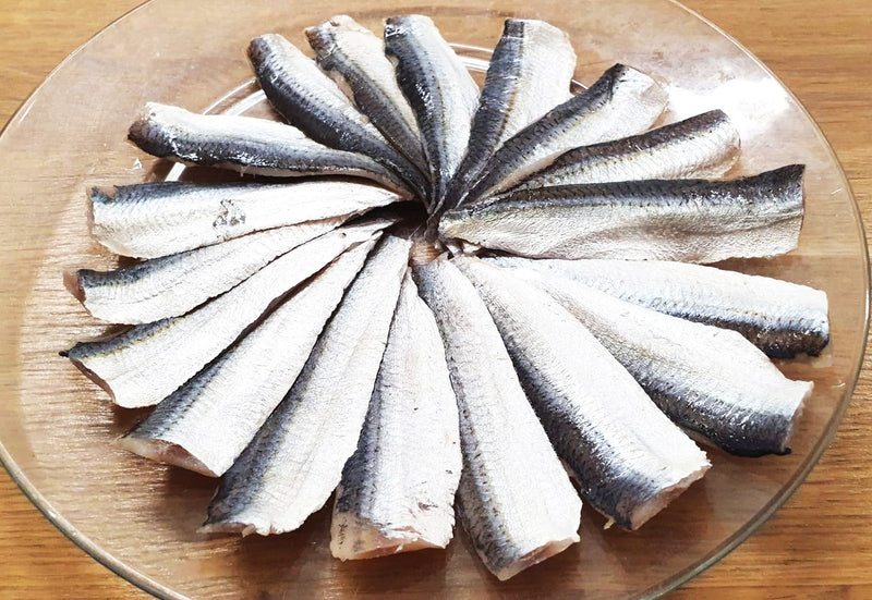 Sliced Soused Sardine Shime Iwashi