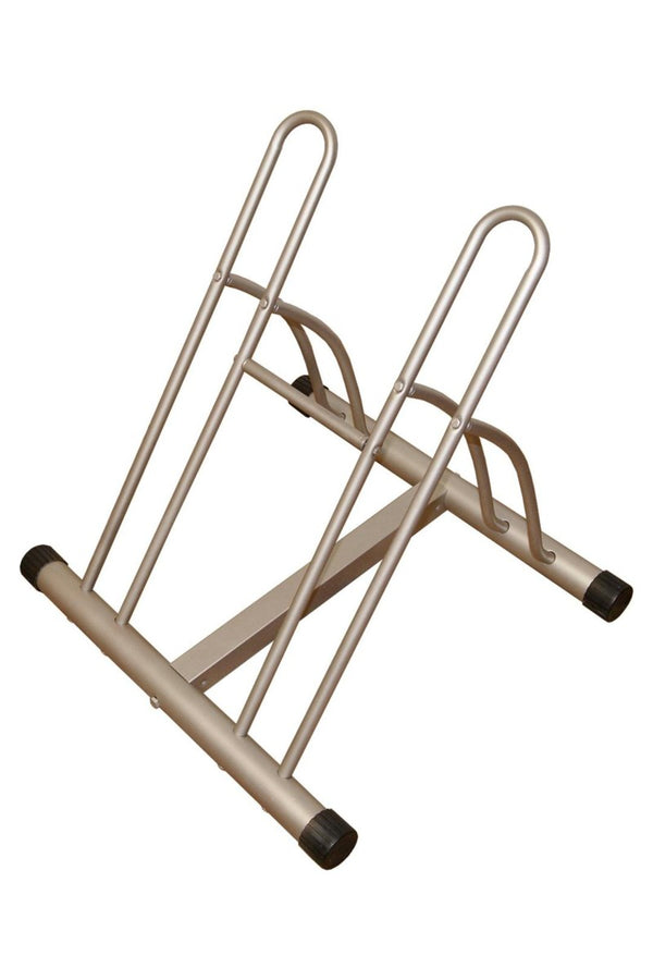 Double Down 2-Bike Storage Floor Rack