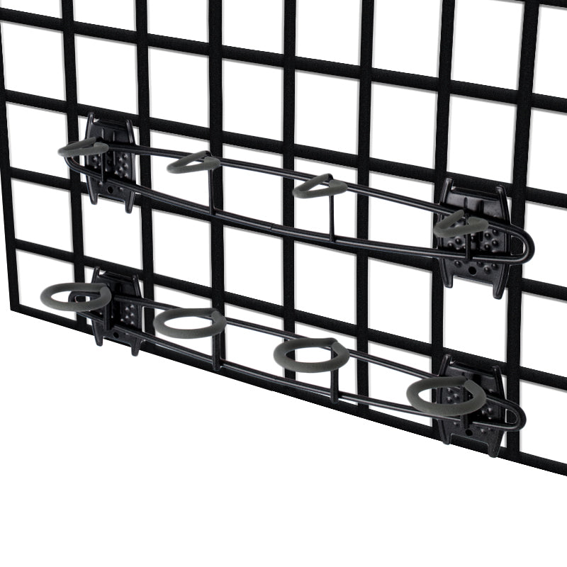 Organized Living - Schulte  7115-5050-50 Fishing Rod Holder for Grid - Wall To Wall Storage