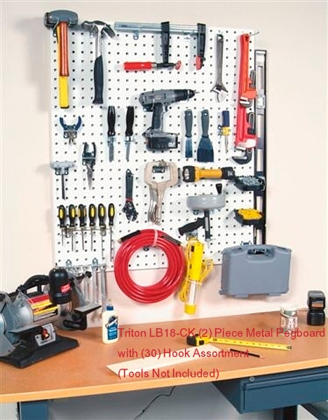 **NEW** LB18-CK  Pro-Series LocBoard 32 Piece Storage System - Wall To Wall Storage