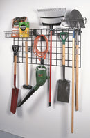 "Organized Living - Schulte 7115-5700-50 Wire Wall Grid: 22-1/4"""" x 47-7/8"""" - Wall To Wall Storage"
