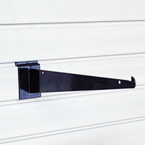 "12"""" Slatwall Shelf Bracket - Wall To Wall Storage"
