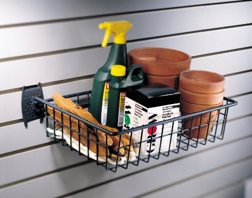 "Organized Living - Schulte 7155-5620-50  The Wire Basket 16""""w x 12""""d x 4""""h for Grid - Wall To Wall Storage"