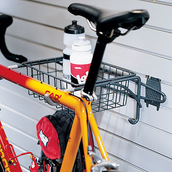 Organized Living - Schulte  7115-5040-50 Bike Rack With Basket - Wall To Wall Storage