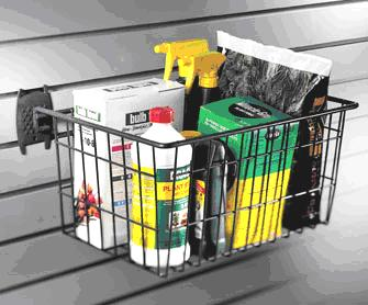 "Organized Living - Schulte  7115-5630-50 The Big Wire Basket for Grid 16""""w x 12""""d x 8""""h - Wall To Wall Storage"