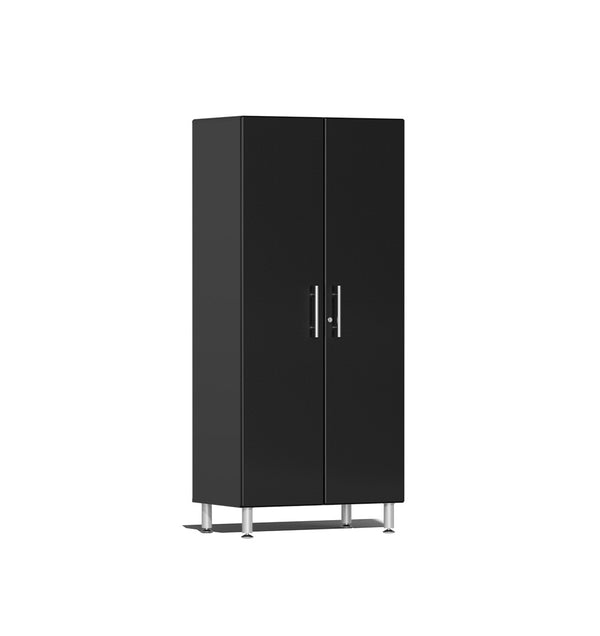 Ulti-MATE UG21006B - 3' Wide 2-Door Tall Tower Cabinet With Midnight Black Facings - Usually Ships in 7-21 Business Days