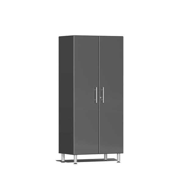 Ulti-MATE UG21006G - 3' Wide 2-Door Tall Tower Cabinet With Graphite Grey Facings - Usually Ships in 7-21 Business Days