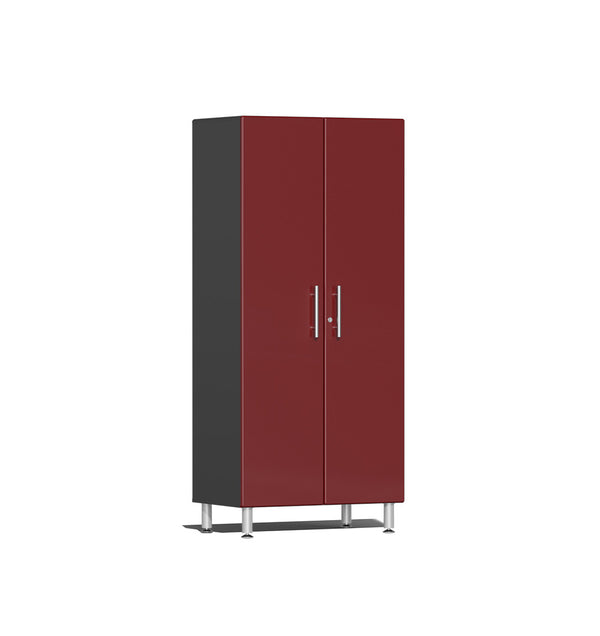 Ulti-MATE UG21006R - 3' Wide 2-Door Tall Tower Cabinet With Ruby Red Facings - Usually Ships in 7-21 Business Days