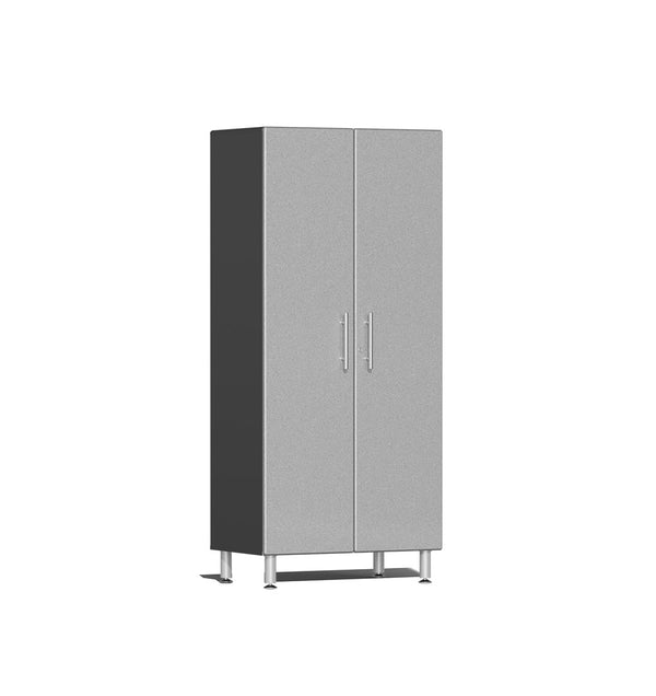 Ulti-MATE UG21006S - 3' Wide 2-Door Tall Tower Cabinet With Stardust Silver Facings - Usually Ships in 7-21 Business Days