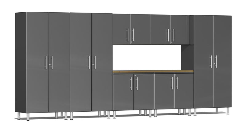 Ulti-MATE Garage 2.0 Series UG24082* Eight Piece 15' Wide Kit With Bamboo Worktop - Usually Ships in 7-21 Business Days
