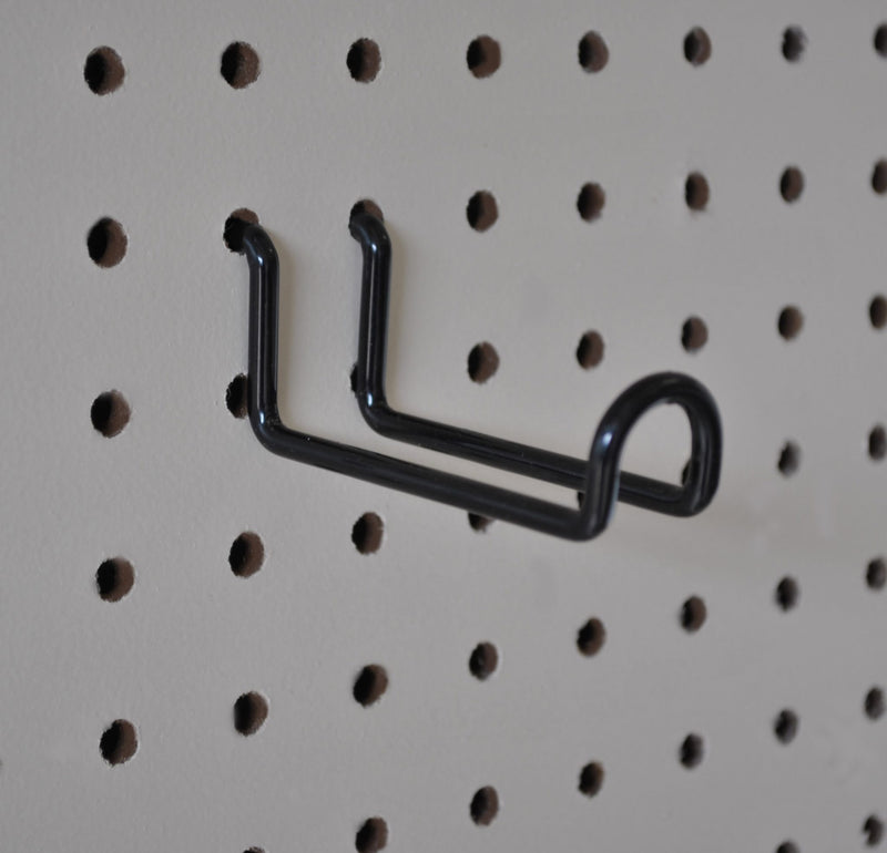 "Wide Hook - 3"""" (bag of six hooks) H-WH3 - Wall To Wall Storage"