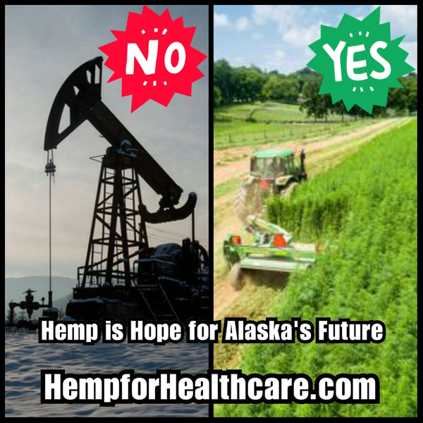 Break the Chains of Oil Dependency Alaska