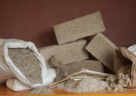 SMALL DIY Hempcrete Block Kit with Recipe