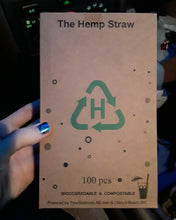 Load image into Gallery viewer, Biodegradable Hemp Drinking Straws