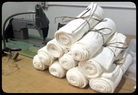 Set of Hemp Bath and Hand Towels