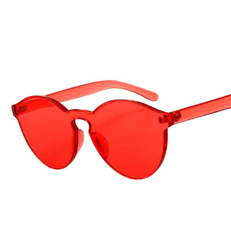 Round Rimless Sunglasses - FashionKila.com