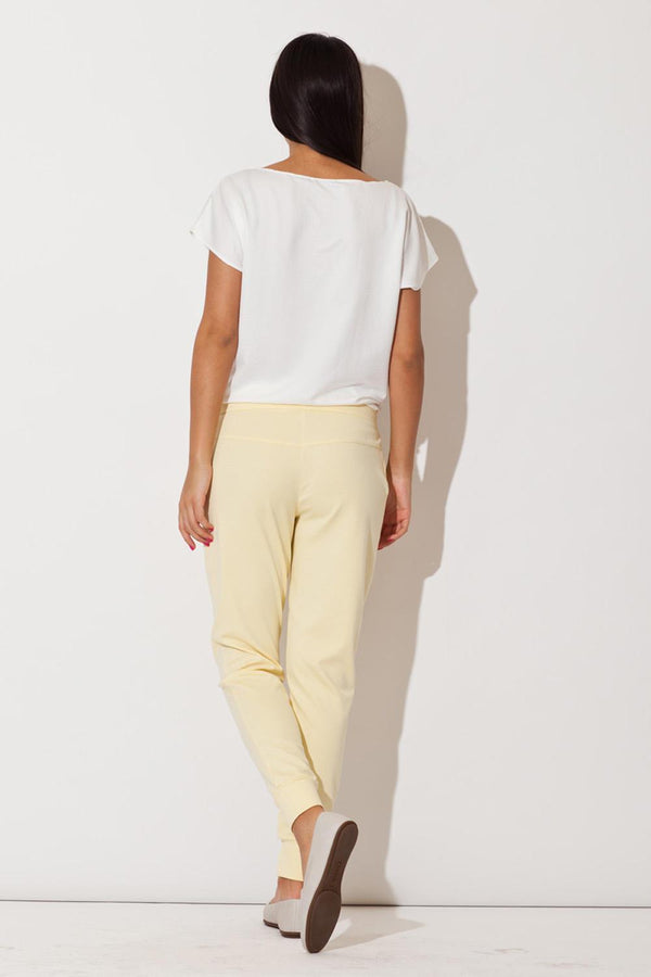 Yellow Katrus Pants&Leggings - FashionKila.com