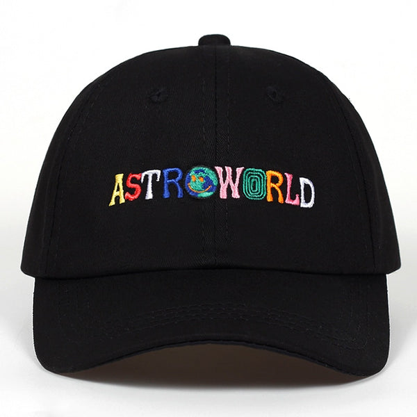 ASTROWORLD Embroidered Dad Hat - FashionKila.com