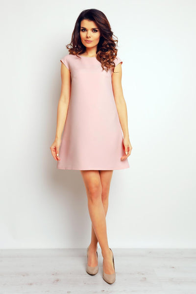 Pink Infinite You Dresses-Shopvoypa
