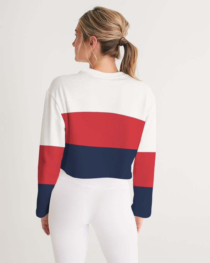 Voypa Women's Cropped Sweatshirt - FashionKila.com