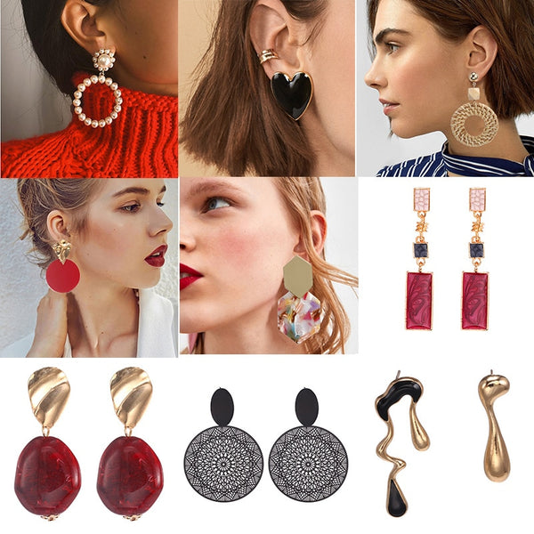 Drop Earrings - FashionKila.com