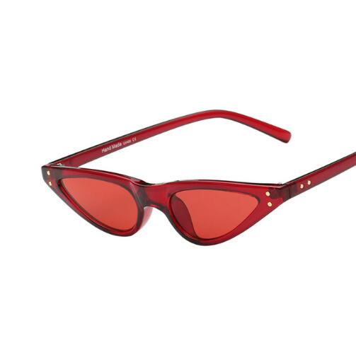 Retro Windproof Cat Eye Frame Sunglasses - FashionKila.com