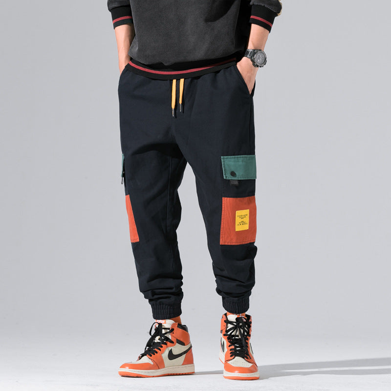 Multi-Pocket Hip Hop Cargo Pants - FashionKila.com