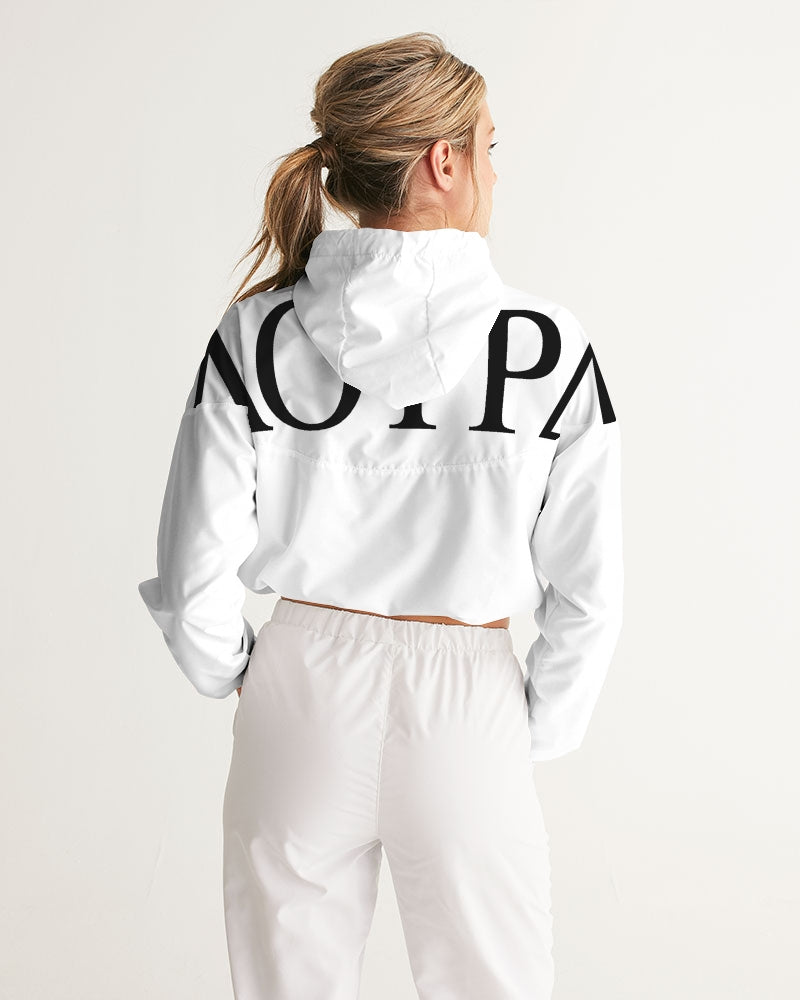 Women's Cropped Windbreaker - FashionKila.com