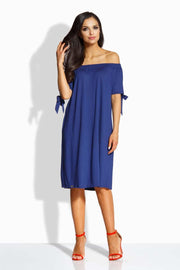 Navy Blue Dresses-Shopvoypa