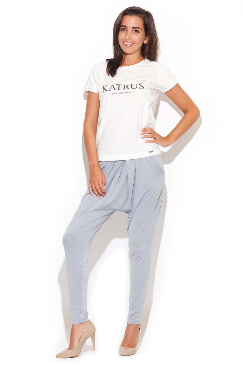 Grey Katrus Pants&Leggings - FashionKila.com