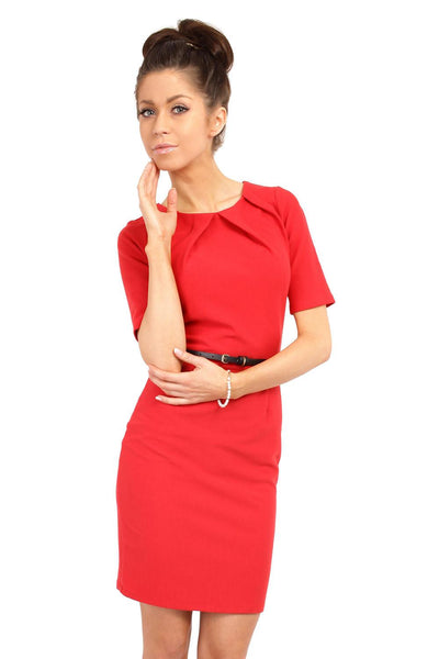 Red MOE Dresses-Shopvoypa