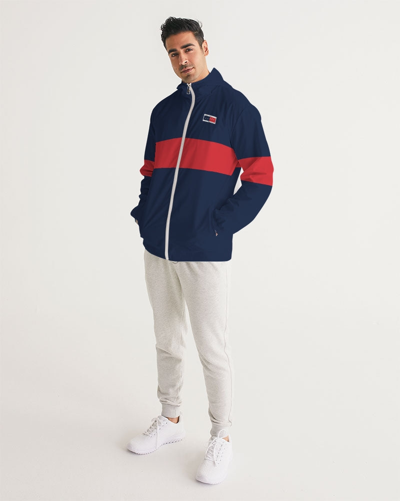 Tu es Ou Men's Windbreaker - FashionKila.com
