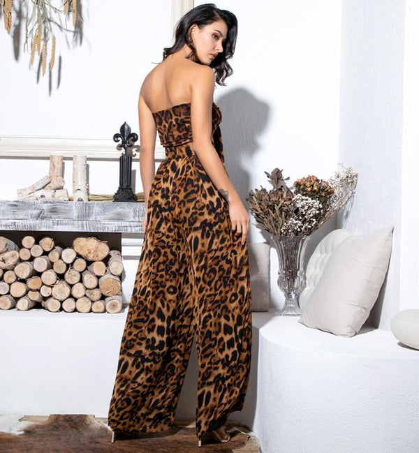 Lemonade Two-Pieces Leopard Chiffon - FashionKila.com