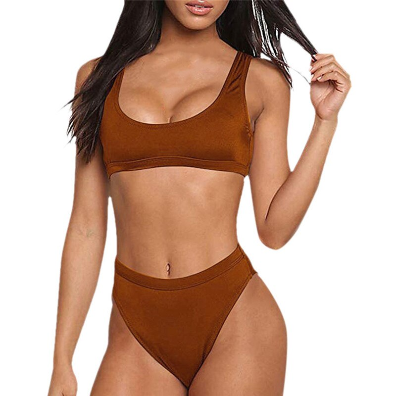 Brazilian push up swimsuit Set - FashionKila.com