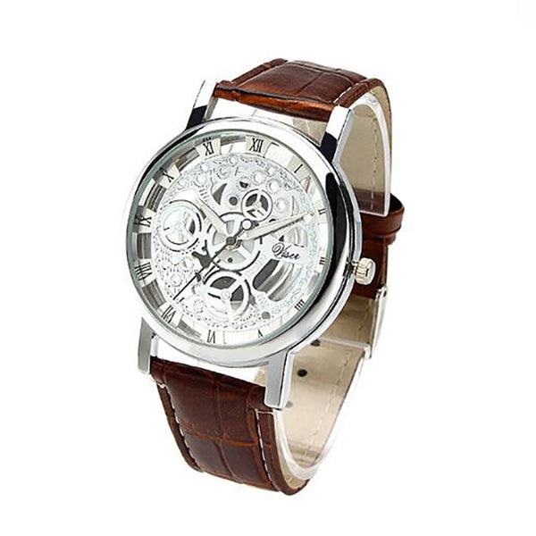 Skeleton Hollow Quartz Wristwatch - FashionKila.com