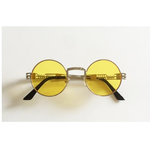 Gothic steampunk mirror sunglasses - FashionKila.com
