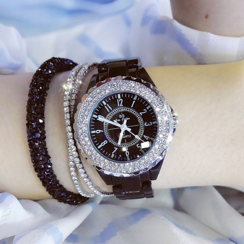 BS bee sister ceramic watch - FashionKila.com