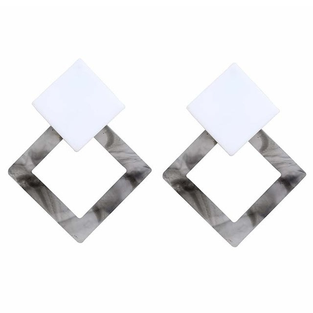 Acrylic Earrings - FashionKila.com