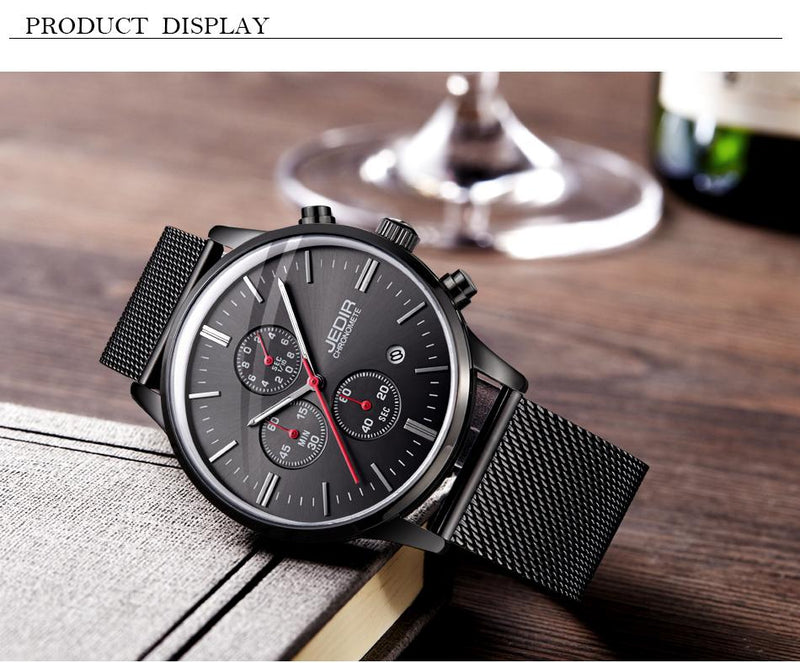 JEDIR chronograph stainless watches - FashionKila.com