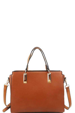 Modern Chic Stylish Satchel With Long Strap - FashionKila.com